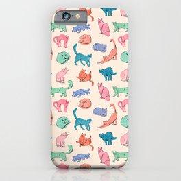 Patel Cats iPhone Case