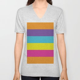 Gender Non-Binary Pride Unisex V-Neck
