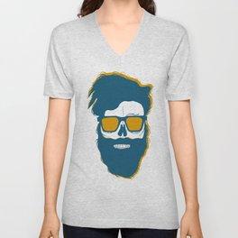 Beard style Unisex V-Neck
