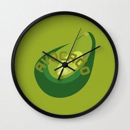 AVOCADO FRUIT Wall Clock