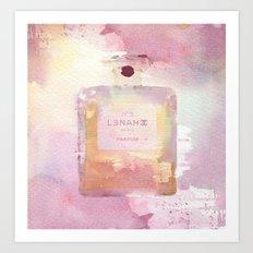 Parfum Paris Nº 5 Art Print