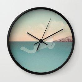 g l u g l u g l u Wall Clock