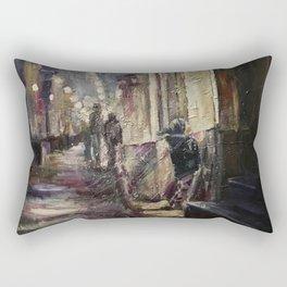 Presentiment Print Original Oil Painting On Canvas Home Living Rectangular Pillow