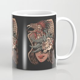 Aztec Eagle Warrior Coffee Mug