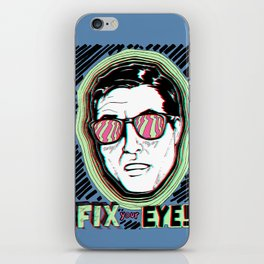 Fix Your Eyes! iPhone Skin