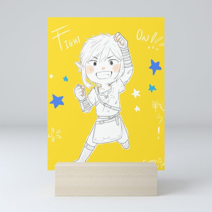Fight On Mini Art Print
