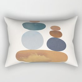 Balancing Stones 31 Rectangular Pillow