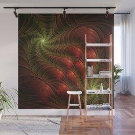 Fantasy Fractal, Coloful And Luminous Wall Mural