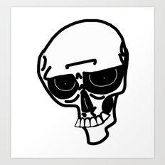 Skinless  Art Print
