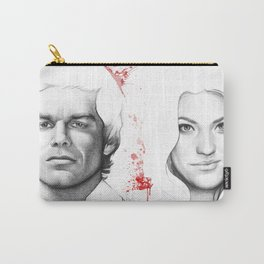 Dexter and Debra Carry-All Pouch