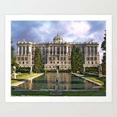 Royal Palace   Madrid  - Spain Art Print