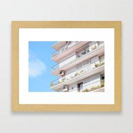 Sevilla Apartment Framed Art Print