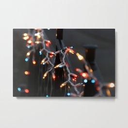 Christmas Bokeh Lights #2 Metal Print
