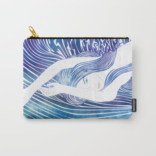Water Nymph LVIII Carry-All Pouch