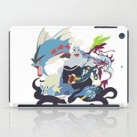 ursula iPad Cases featuring Team Ursula by Citron Vert
