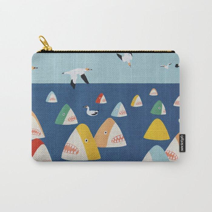 Shark Park Carry-All Pouch