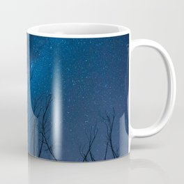 Dry trees trying to reach the stars. Coffee Mug