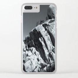 Big Rock 5793 Joshua Tree Clear iPhone Case