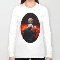 football Long Sleeve T-shirts featuring Football by Cs025