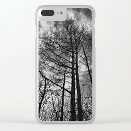 Fall Sentinels Clear iPhone Case