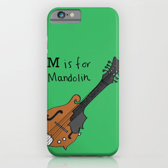 M is for Mandolin iPhone & iPod Case