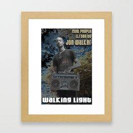 Cool People Listen to Jon Walker Framed Art Print