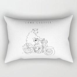 'Lamb Chopper' Rectangular Pillow