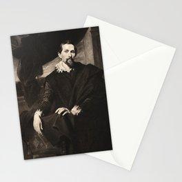 Portrait of Sndyers. Van Dyck Stationery Cards