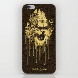 Crush The Demoniac iPhone Skin