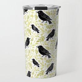 Blackbird and Foliage II Travel Mug