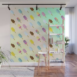 Popsicle Summer Wall Mural
