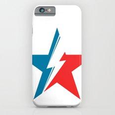 Bowie Star white iPhone 6s Slim Case