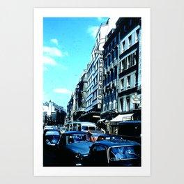 Days Long Past: Hotel de Castiglione Art Print