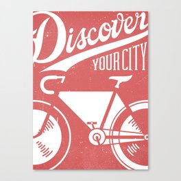 Discover Your City Canvas Print