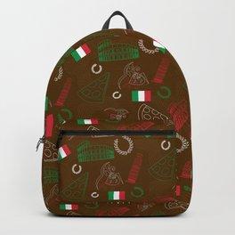Italian pattern Backpack