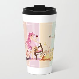 Sailor Moon Pinup - Cupcakes Metal Travel Mug