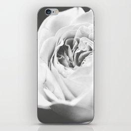 Light Grey Rose #1 #floral #art #society6 iPhone Skin