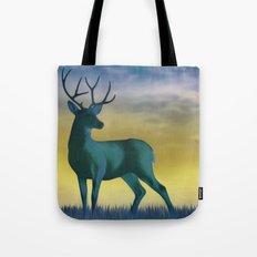 Night Deer Tote Bag