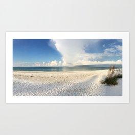 Beachy. Art Print