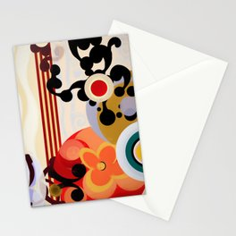 Abstract Composition 414 Stationery Cards