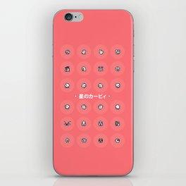 Kirby's Dream Land iPhone Skin