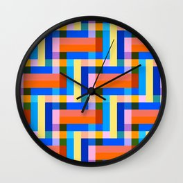 The Map  #society6 #decor #buyart Wall Clock