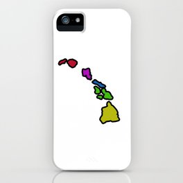 Hawaiian Islands iPhone Case