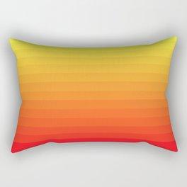 Fire Gradient Rectangular Pillow
