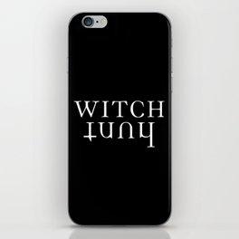 witch hunt iPhone Skin