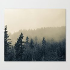 Mists of Noon Canvas Print