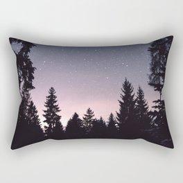 Starry Sunset | Nature and Landscape Photography Rectangular Pillow