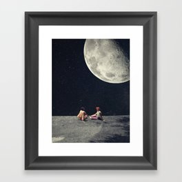 I Gave You the Moon for a Smile Framed Art Print