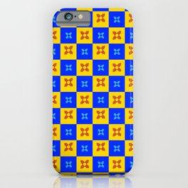 flag of new mexico 8 - with inverted colors iPhone Case