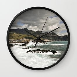 MYSTIC FEELING - SICILY Wall Clock